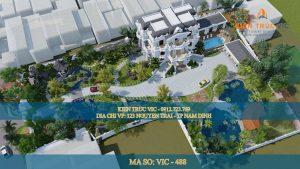 Kinh nghiệm thiết kế biệt thự tân cổ điển tại Nam Định